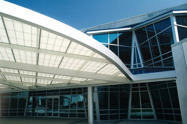 West Jefferson Wellness Center canopy