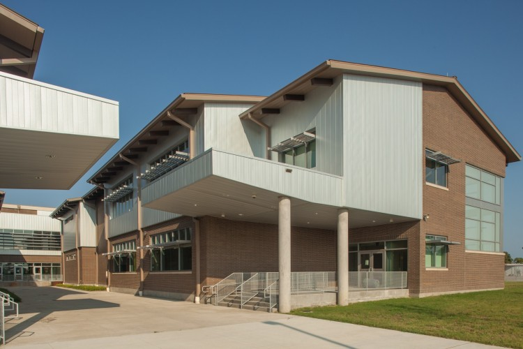 LEED certified high school