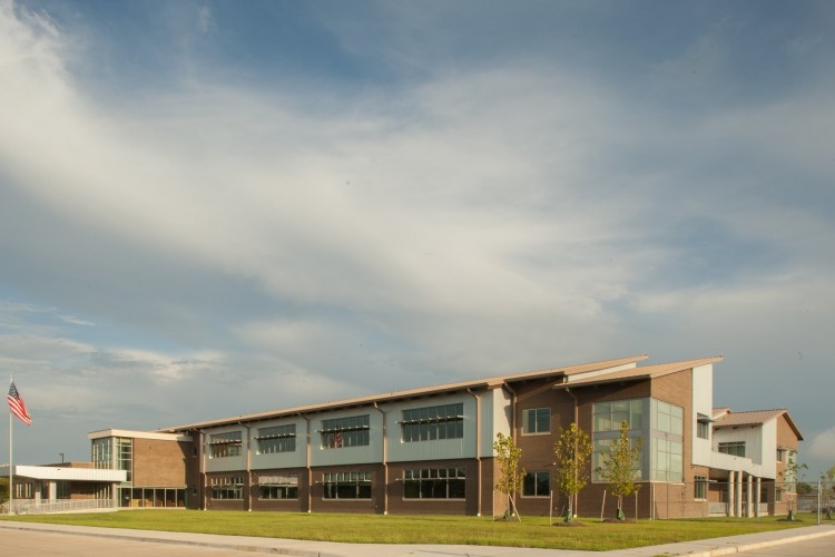 sustainably designed high school