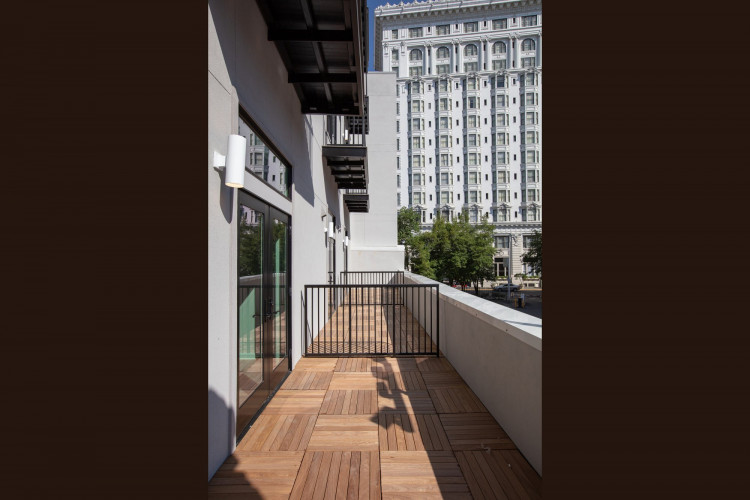 TERRACE WOOD PAVERS