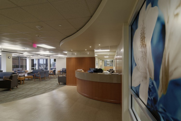 The Women's Pavilion at Ochsner Baptist Waiting Room