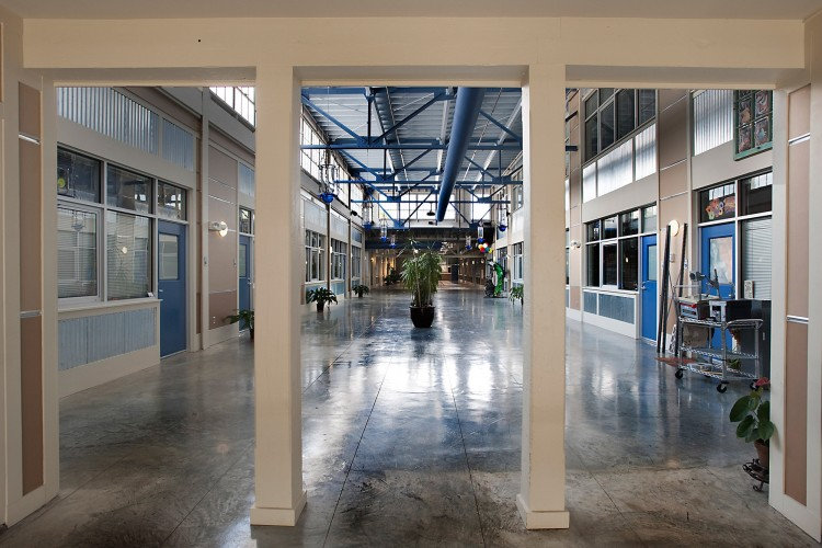 Factory conversion to low-income living