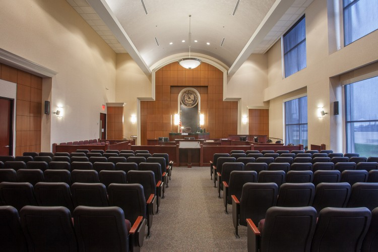 Jefferson Parish Clerk of Court state-of-the-art courtroom