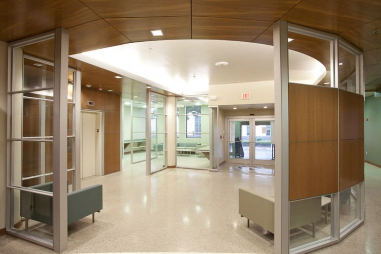 Louisiana State Board of Medical Examiners first floor lobby design