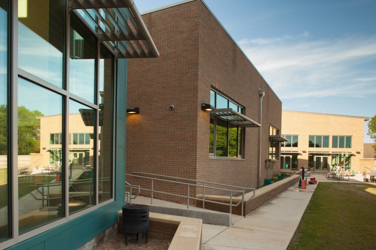 School designed with careful considerations to religious preferences