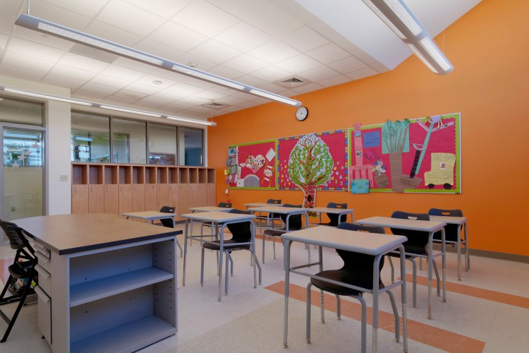 Conscientious elementary school architecture and design